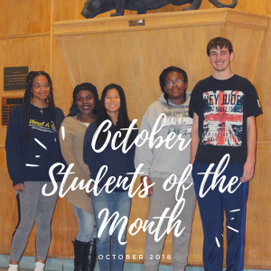 November CHS Students of the Month
