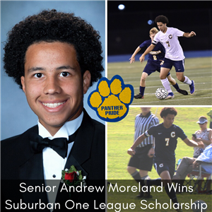 Andrew Moreland wins scholarship