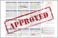 2021-2022 and 2022-2023 APPROVED Academic Calendars