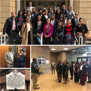 CHS Students Visiting Bowie State University