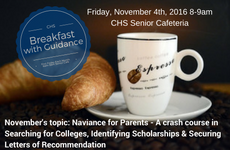 Breakfast With Guidance Notice