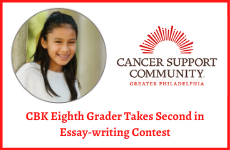 Cedarbrook's Gabriela Fernandez Takes Second in Cancer Support Community Essay Contest