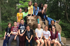 CBK students at PA Junior Academy of Science