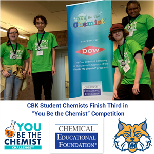 "CBK Student Chemists Finish Third in ""You Be the Chemist"" Competition"