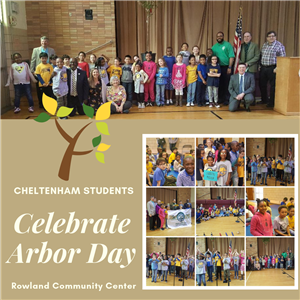 CES Students Celebrate Arbor Day