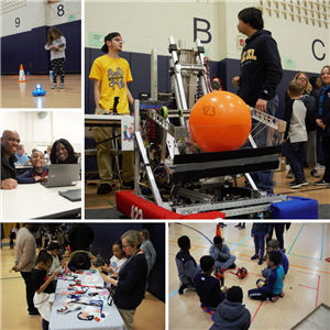 Photos from CES Family Code Night