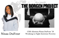 CHS Alumna Nisaa DuFour '19 Working to Fight Extreme Poverty