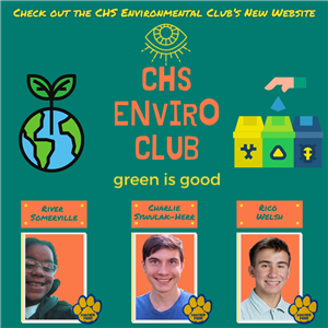 Enviro Club Website Announcement