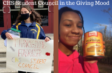 CHS Student Council in the Giving Mood