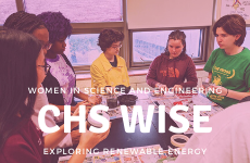 Women in Science and Engineering Explores Renewable Energy
