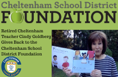 Retired Cheltenham Teacher Cindy Goldberg Gives Back to the Cheltenham School District Foundation