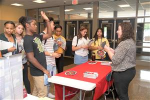 CHS Students At College Fair