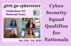 Cyber Security Squad Qualifies for Nationals