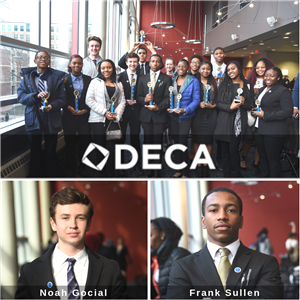 CHS DECA Club at Competition in Hershey, PA