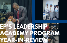 EP's Leadership Academy Program Year-in-Review