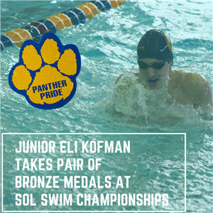 Junior Eli Kofman Takes Pair Of Bronze Medals