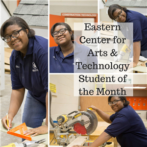 Alissa Johnson Eastern Student of the Month