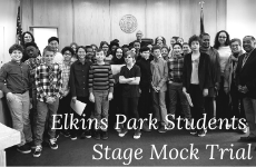 "Elkins Park Students Stage Mock Trial for a Character from ""The Giver"""