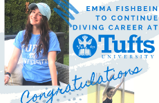 Emma Fishbein to Continue Diving Career at Tufts University