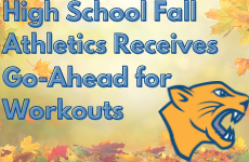 High School Fall Athletics Receives Go-Ahead for Workouts