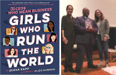 """Girls Who Run the World"" Author Diana Kapp Visit Elkins Park"