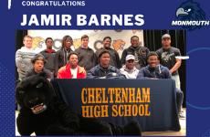 Jamir Barnes Signs National Letter of Intent to Play Football at Monmouth University