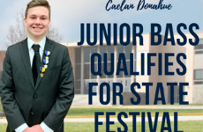 Junior Bass Qualifies for State Festival