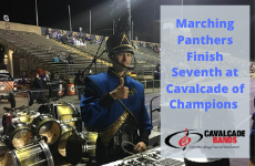 Marching Panthers Wrap Season, Finish Seventh at Cavalcade of Champions