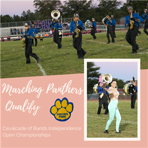 Marching Panthers Qualify
