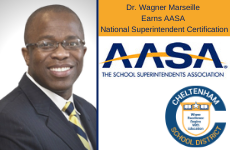 Dr. Wagner Marseille Earns AASA National Superintendent Certification