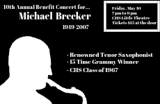 Michael Brecker Tribute Concert logo
