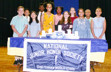 NJHS 2018 Induction Officers