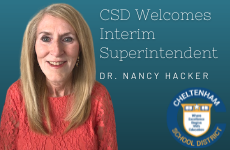 Dr. Nancy Hacker Named Cheltenham School District Interim Superintendent; Board Engages Search Firm