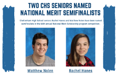 Two CHS Seniors Named National Merit Semifinalists