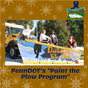 Art Students Plow the Way in PennDot Contest
