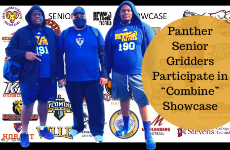 "Panther Senior Gridders Participate in ""Combine"" Showcase"