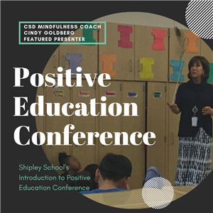 Cindy Goldberg Positive Education Conference Flyer