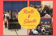 Myers Hosts Annual Roots and Shoots