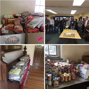 Rotary Club Thanksgiving Food Drive
