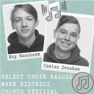 Select Choir Basses Make Chorus Festival