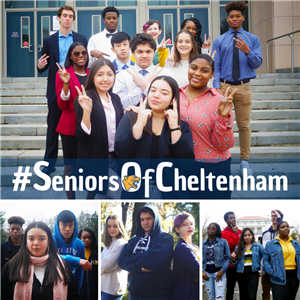 Seniors of Cheltenham students