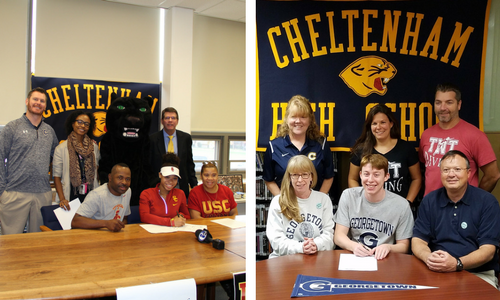 Fall Athletic Signings