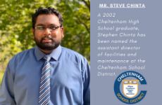 Steve Chinta Joins Facilities and Maintenance Staff as Assistant Director