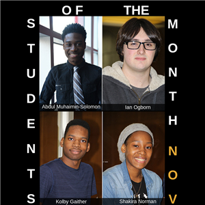 Students of the Month November