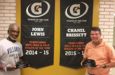 CHS Track Coaches Recognized Coach of the Year
