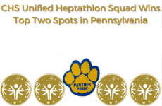 CHS Unified Heptathlon Squad Wins Top Two Spots in Pennsylvania