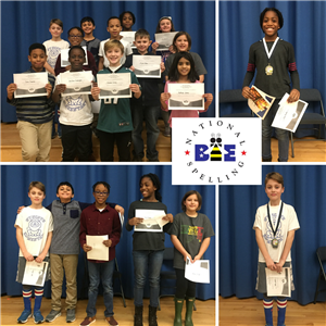 Wyncote Spelling Bee Students