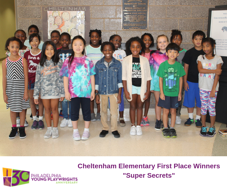 Cheltenham Elementary Students First Place PYP Winners