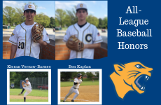 Versaw-Barnes and Kaplan earn all-league baseball honors