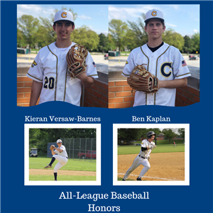 Versaw-Barnes, Kaplan earn all-league baseball honors